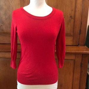 Red Cyrus Crewneck Sweater